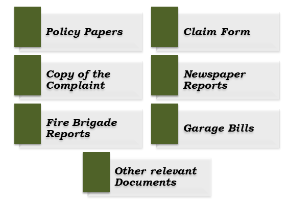 Documents required for filing a Riot Damage Claim